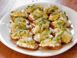 ricotta and braised leek crostini recipe serious eats