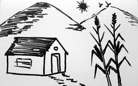simple drawing of nature top 12 simple sketches of nature