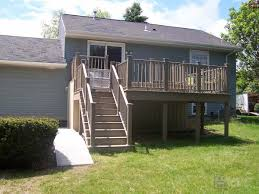 milwaukee area deck builders bowles deck contractors build a deck wi after