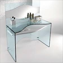 Small Glass Computer Desk Glass Computer Desk