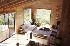 Living Room Decorating Ideas - Wood living room design