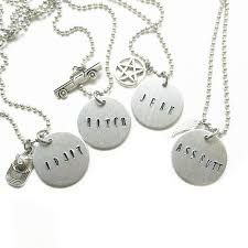 friend necklace images Jerk bitch supernatural best friend necklaces 42 nerdtastic place png