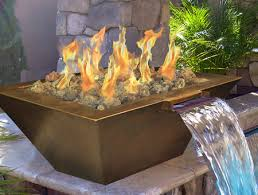 Fire Pit With Glass by Outdoor Gas Fireplace Portable Fire Pit Custom Fireplace Control