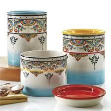 blue kitchen canisters u0026 jars you u0027ll love wayfair