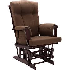 baby relax glider rocker and ottoman espresso with chocolate