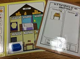 Peechy Folder Fill The House File Folder Activity Great For Students With