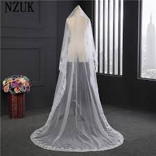 wedding veils for sale white ivory 3m wedding veils 2017 1 layer hot sale new arrival