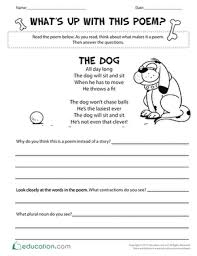 contractions worksheets education com