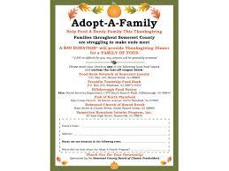 adopt a family this thanksgiving basking ridge nj patch