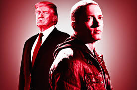 eminem vs donald trump why hasn u0027t president hit back at rapper