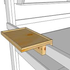Free Instructions For Bunk Beds by Free Guardrail Side Table Or Phone Shelf Op Loftbed
