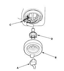 2002 honda accord headlight bulb replacing a headlight bulb on a 2002 crv whats the trick