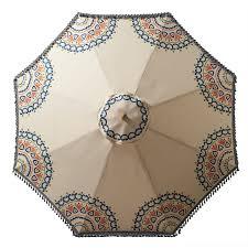 Floral Patio Umbrella Floral Patio Umbrella Design Barn Patio Ideas