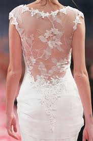 robe de mariã e dentelle dos girlystan robes de mariée dos nu partie 1 la dentelle