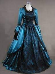 Ball Gown Halloween Costumes Victorian Gothic Dress Ball Gown Prom Reenactment Halloween
