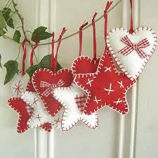 Homemade White Christmas Decorations by Homemade Fabric Christmas Decorations Google Search U2026 Pinteres U2026