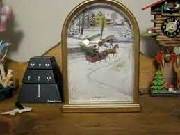 howard miller carols of mantel clock