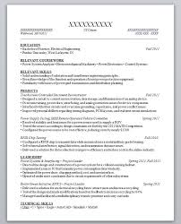 Graduate Student Resume Sample by Resume Sample For High Graduate With No Work Experience