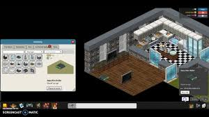 habbo apartment house building tutorial part 3 youtube
