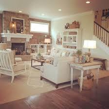 shabby chic livingroom creame sofa elegant carpet designs white