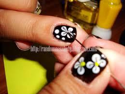 nail art at home toothpick nail art designs