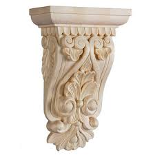 Wood Corbels Canada Wooden Unfinished Decorative Wood Corbels Brackets And Appliques