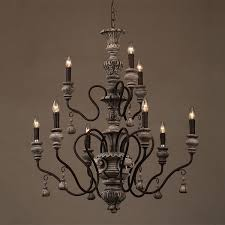 French Wooden Chandelier Chandelier Fancy Chandelier Crystals For Sale Stunning Country