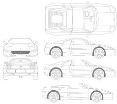 ferrari sketch car ferrari f355 the photo thumbnail image of figure drawing