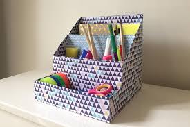auchan bureau diy créez un organiseur de bureau avec des boîtes de céréales