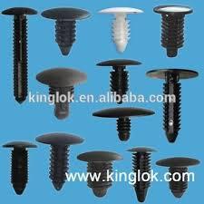 plastic pine tree clip tree rivet