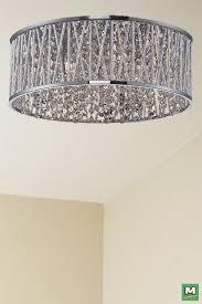 patriot lighting flush mount patriot lighting elegant home carolyn chrome flush mount with