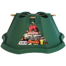 bosmere contemporary green metal christmas tree stand 5in