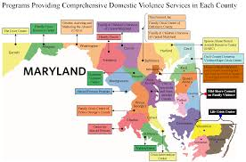 Map Of Maryland Counties Find Help Near You