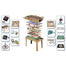 large multi game table games tables travel leisure robert dyas