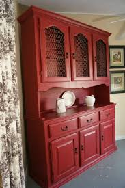 Corner China Cabinet Hutch Sideboards Marvellous Red China Cabinet Red China Cabinet Fred