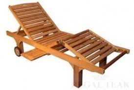 Patio Wooden Chairs Teak Patio Lounge Chairs Foter