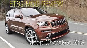 srt8 jeep modified jeep grand cherokee srt8 ets2 mod review kinda youtube