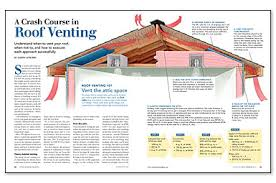 How To Cap A Hip Roof Does A Roof Need A Ridge Vent Fine Homebuilding
