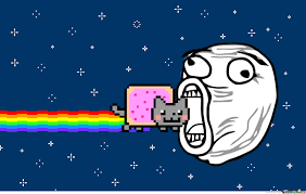 Nyan Cat Meme - nyan cat is delicious by recyclebin meme center