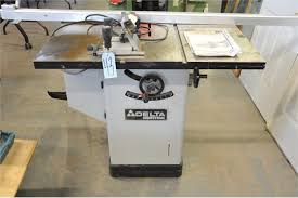 delta table saw for sale delta industrial model 36 653c table saw s n 002258q