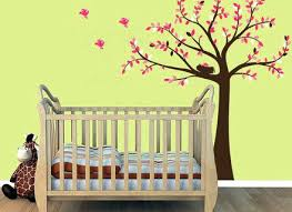 Nursery Tree Wall Decal Baby Tree Wall Decals Image Of Baby Nursery Decals Wall