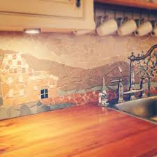 how to install glass mosaic tile backsplash in kitchen how to make a mosaic backsplash