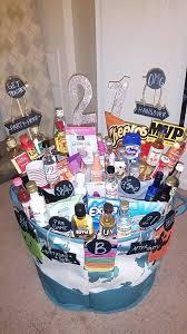 birthday baskets 21st birthday basket gift baskets 21st birthday