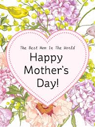 to the best mom happy mother s day card birthday heart flower happy mother s day card birthday greeting cards