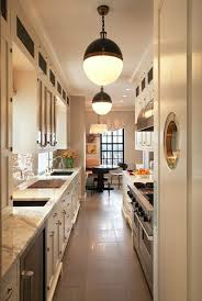eye for design create a lovely galley kitchen
