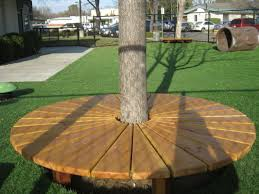 tree benches 135 furniture images for tree trunk bench seat