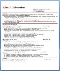 Resume Templates For Truck Drivers 24 Cover Letter Template For Resume Exles Truck Drivers With