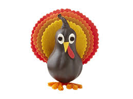 how to make a turkey gourd craft for thanksgiving hgtv