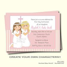 communion invitations boy christening and communion invitation card communion