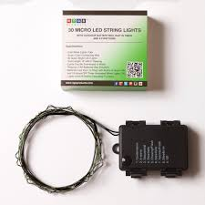 Outdoor Timer With Light Sensor - micro led 30 super bright cold white color indoor and outdoor